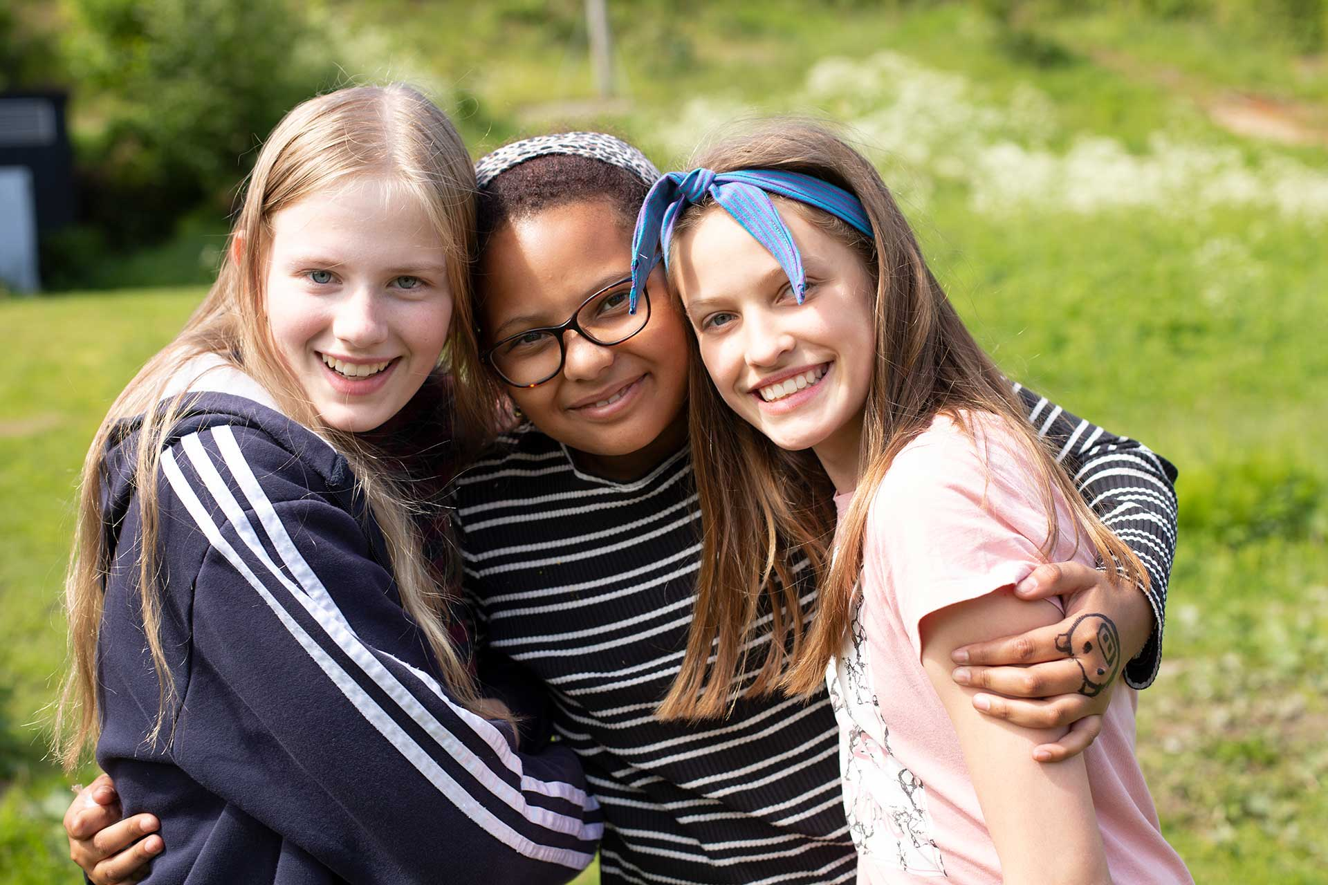 Students at Arendal International School