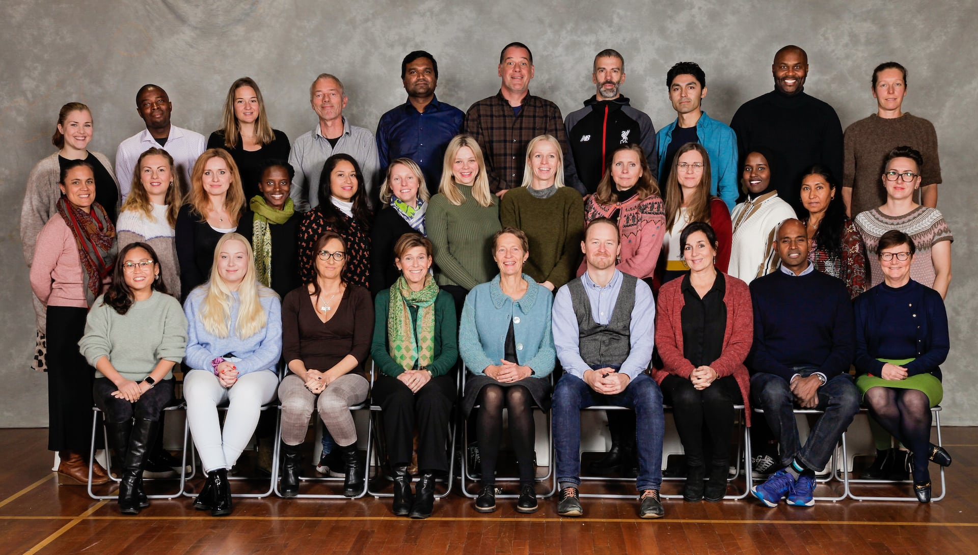 Staff at Arendal International School